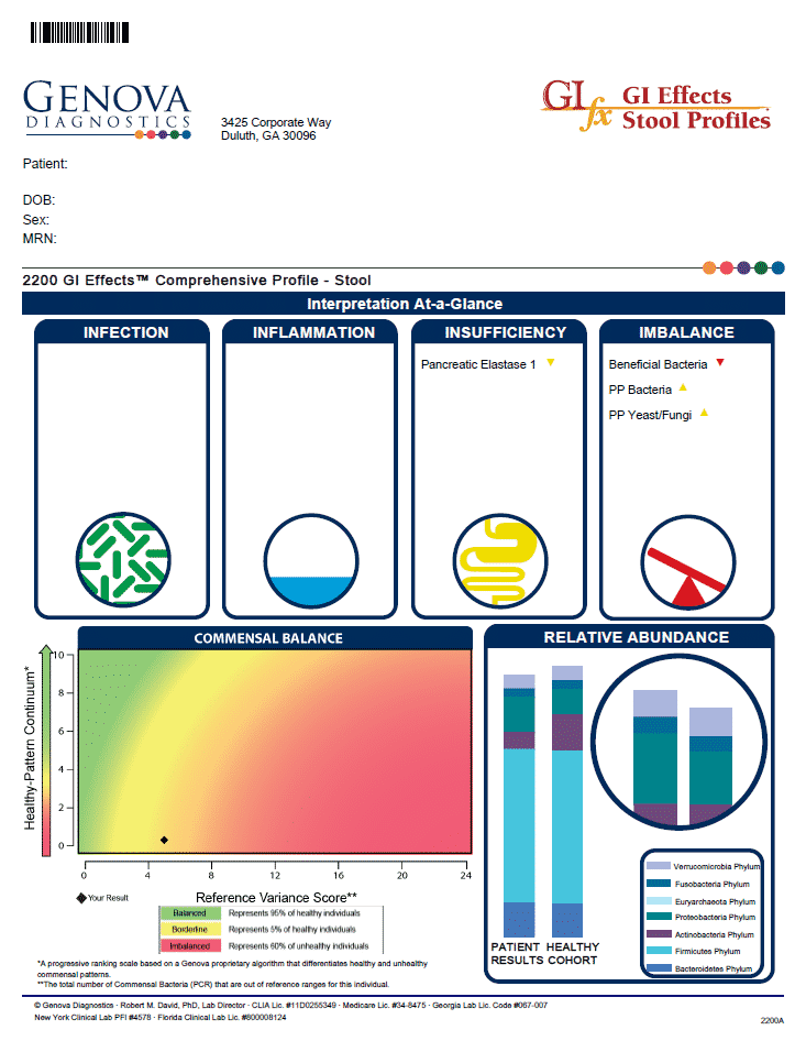 GI Effects Functional Test Sample Report